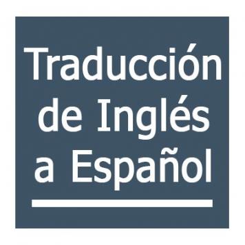 Traducción de ingles a español